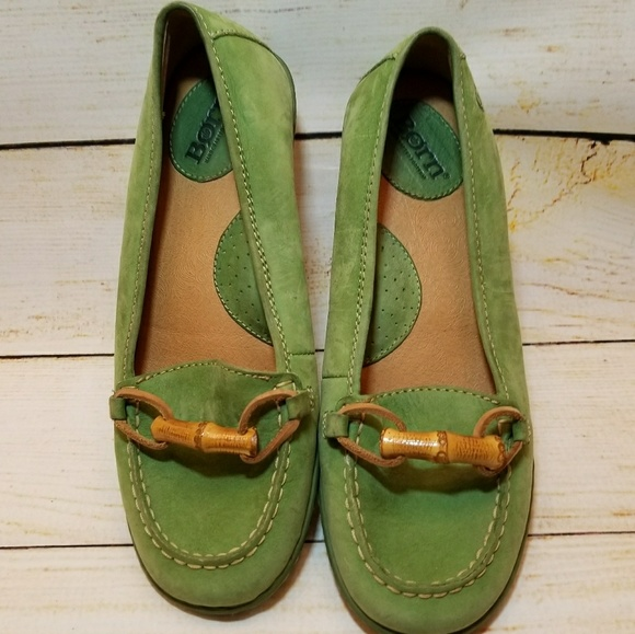 471993ca807 Born Shoes - Born slip on cushion penny loafer flats size 7.5